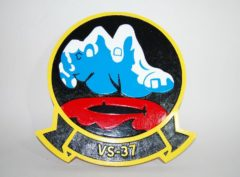 VS-37 Sawbucks Plaque