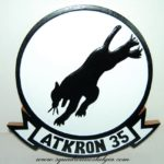 VA-35 Black Panthers Plaque