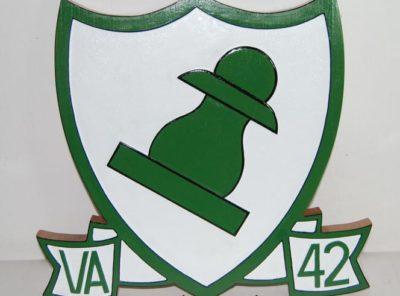 VA-42 Green Pawns Plaque