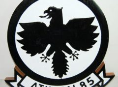 VA-85 Black Falcons Plaque