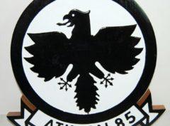 VA-85 Black Falcons Plaque
