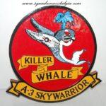 "A-3 Skywarrior ""Killer Whale"" Plaque"
