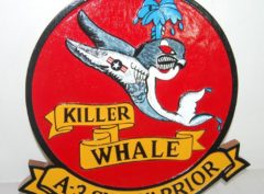 "A-3 Skywarrior ""Killer Whale"" Plaque"