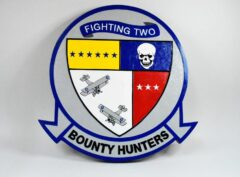 VF-2 Bounty Hunters Plaque