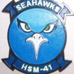 HSM-41 Seahawks Plaque