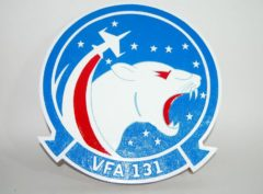 VFA-131 Wildcats Plaque
