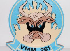 VMM-261 Raging Bulls Plaque