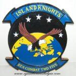 HSC-25 Island Knights Plaque