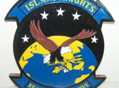 HSC-25 Island Knights Plaque