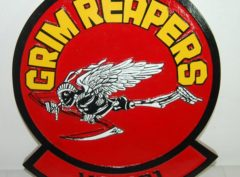 VF-101 Grim Reapers Plaque alt version
