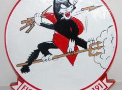 VF-191 Satan's Kittens Plaque