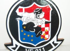 VF-211 Checkmates Plaque