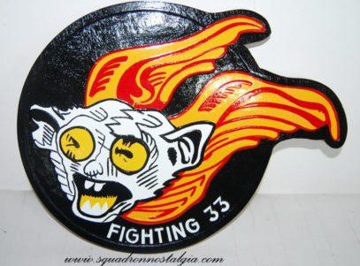 VF-33 Tarsiers Minky Plaque