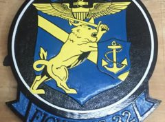 VF-32 Swordsmen Plaque