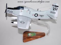 VAW-13 Zappers EA-1F Skyraider (1966) Model