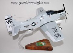 VAW-13 Zappers EA-1f Skyraider Model
