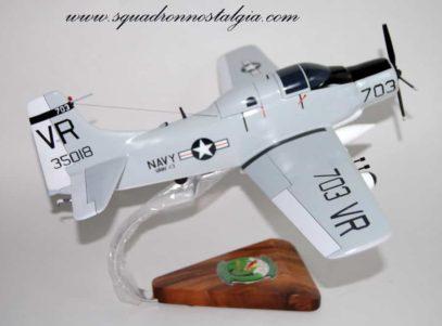 VAW-13 Zappers EA-1f Skyraider Model