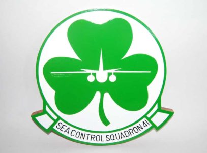 VS-41 Shamrocks Plaque