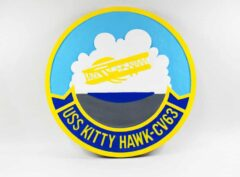 USS Kitty Hawk CV-63 Plaque