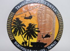 Schofield Army Barracks Plaque