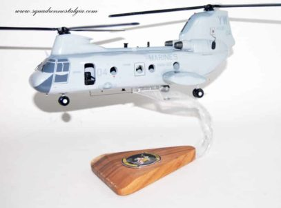 HMM-165 White Knights CH-46 Model