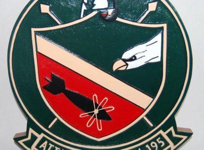 VA-195 Dambusters Plaque