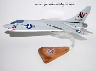 VF-194 Red Lightnings F-8J (1975) Model