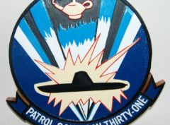 VP-31 Black Lightnings Plaque