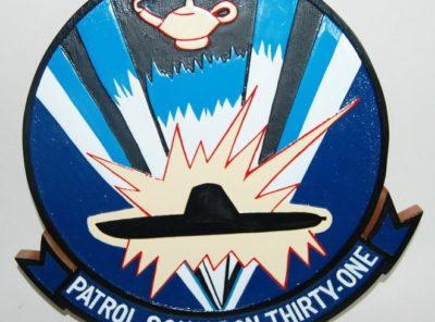 VP-31 Black Lightnings Plaque