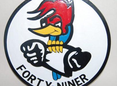 VP-49 Woodpeckers Plaque