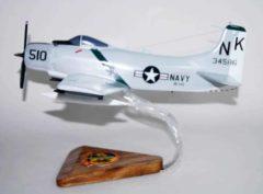 VA-145 Swordsmen A-1 Skyraider (1964) Model