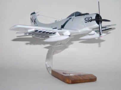 VA-145 Swordsmen A-1 Skyraider Model