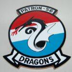 VP-56 Dragons Plaque