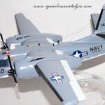 C-1 Trader USS Kitty Hawk Model