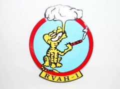 RVAH-1 Smokin' Tigers Plaque