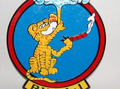 RVAH-1 Smokin' Tigers Plaque