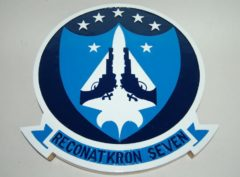 RVAH-7 Peacemakers of the Fleet Plaque