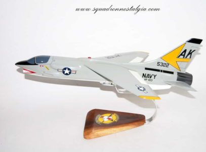 VF-103 Sluggers F-8 Crusader Model