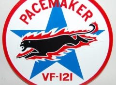 VF-121 Pacemakers Plaque