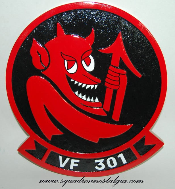 VF-301 Devil's Disciples Plaque