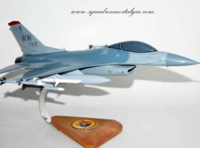 13th Fighter Squadron Panther Pack F-16 Model