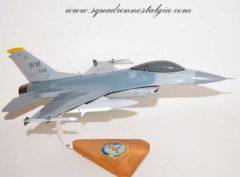 14th Fighter Squadron F-16 model