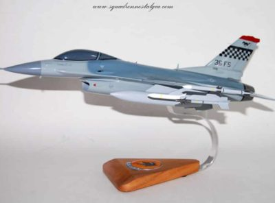 36th Fighter Squadron F_16 Model