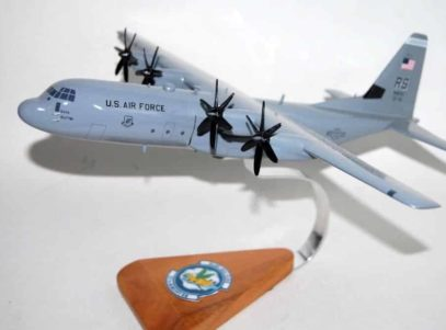 37th Airlift Squadron Blue Tail Flies C-130J Model