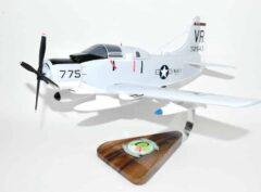 VAW-13 Zappers EA-1F Skyraider (1966) 775 Model