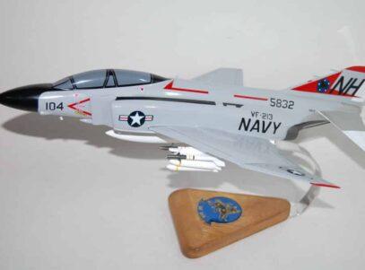 VF-213 Fighting BlackLions F-4 (1972) Model