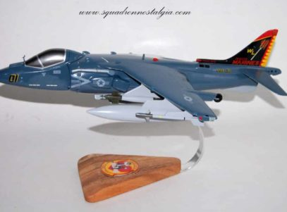 VMA-311 Topcats AV-8b Harrier Model