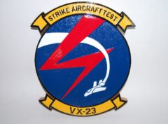 VX-23 Strike Aircraft Test