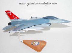 100th Fighter Squadron F-16 Model