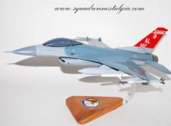 100th Fighter Squadron F-16 Model